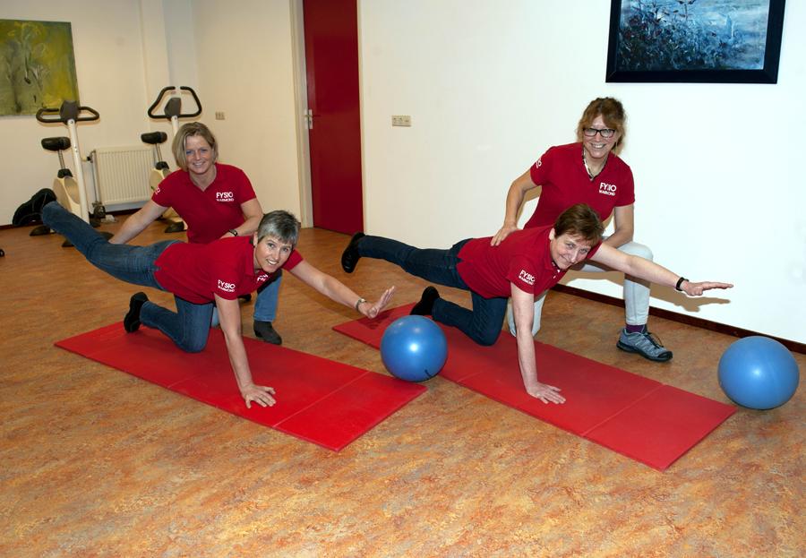 Pilates in onze zaal